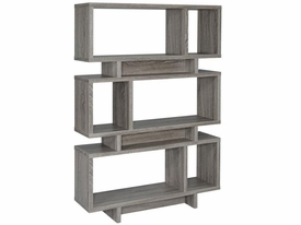 Weathered Gray Bookcase