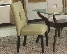 Green Upholstered Dining Chair # 106653 (2pk)