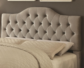 Headingley Gray Velvet Headboard w/ 3 Color Options!