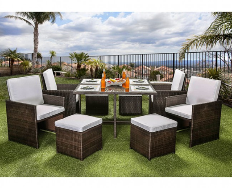 Heather patio set by furniture of america cm ot2101 for Furniture 4 less las vegas