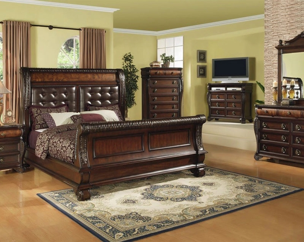Hemingway bedroom set furniture 4 less dallas for Less expensive furniture