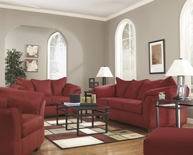 Darcy Salsa Sofa Set