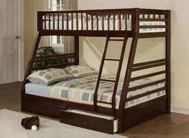 Jason Espresso Finish Twin/Full Bunk Bed