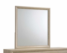 Vernon Washed Oak Mirror