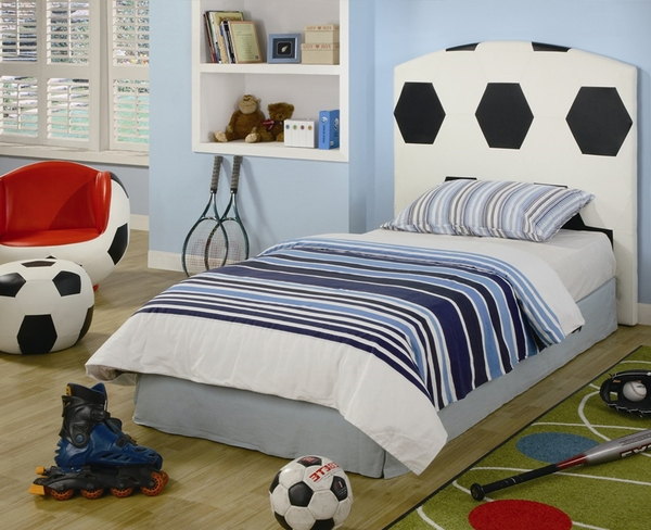 Kid's Soccer Bed