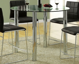 Kona Glass Counter Height Table # CM8320PT