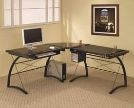 L-Shape Charting Computer Desk