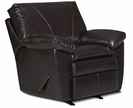 Lancaster Walnut Recliner