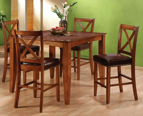 Laredo 5-Pc Counter Height Dining Set