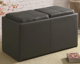 Large Ottoman with Additional Seating Within