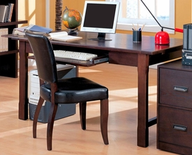 Laval Table Desk with Drop-Front Keyboard Drawer