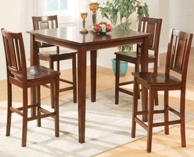 Leah 5-Pc Counter Height Dining Set # F2254