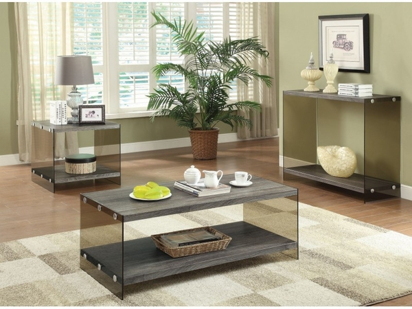 Weathered Grey 3-pc Occasional Set