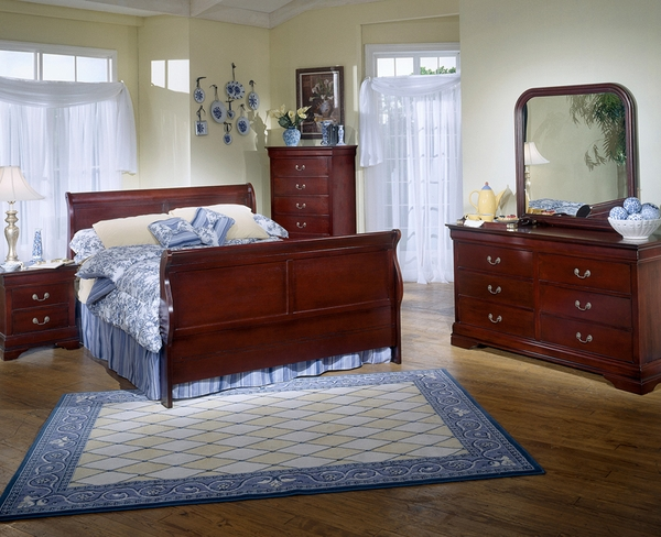 Louis Phillipe Youth Bedroom Set