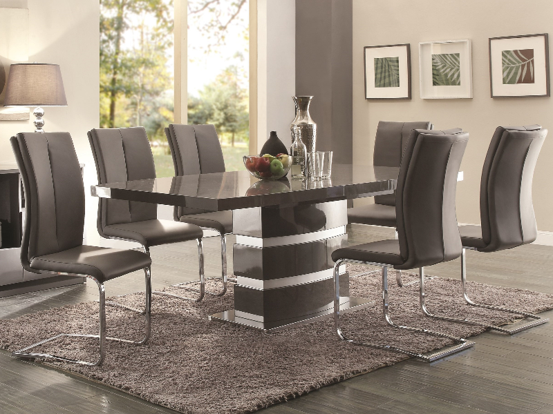 Incroyable Lowry Collection 5 Pc Set # 107001GRY By Coaster Furniture