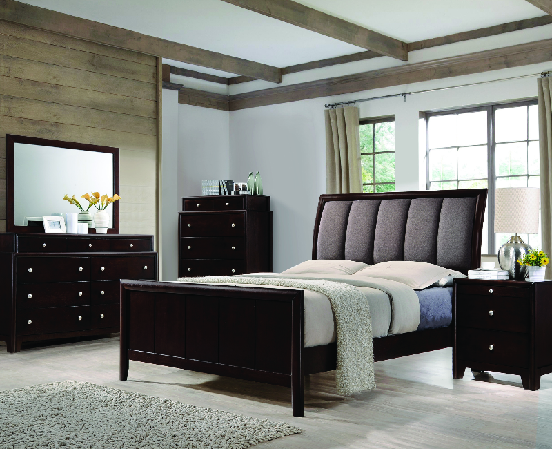 Madison Collection 5-Pc Bedroom Set by Coaster Furniture 204880SET ...