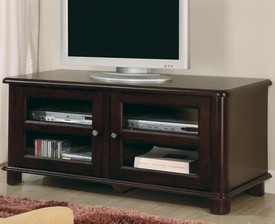Media Console with Doors and Shelves
