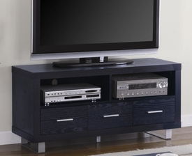 Media Console with Shelves and Drawers