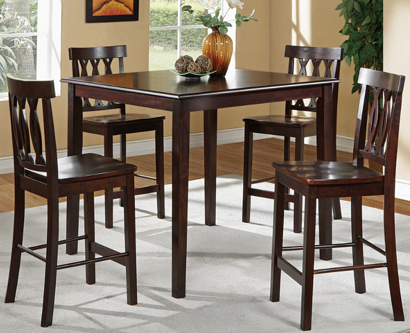 Melanie 5 Pc Counter Height Dining Set