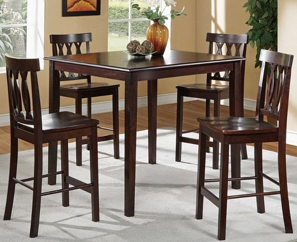 Melanie 5-Pc Counter Height Dining Set # F2259