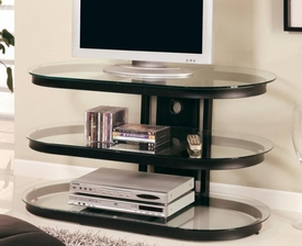 Metal and Glass Media Console