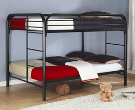 Metal Full Over Full Bunk Bed