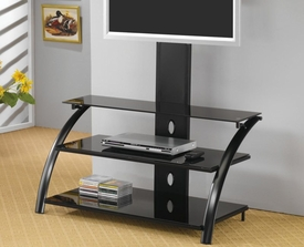 Metal Media Console with Bracket