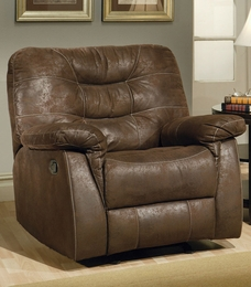 Microfiber Finish Rocker Recliner