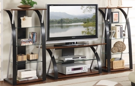 Modern TV Stand w/opt Shelves
