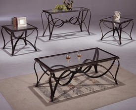 Monarch 3-Pc Coffee Table Set