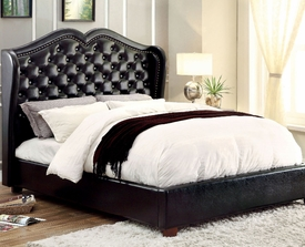 Monroe Queen Bed with Jewel Tufted Headboard