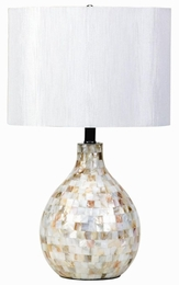 Mosaic Look Table Lamp