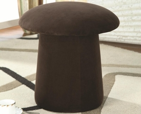 Mushroom Shaped Ottoman with Swivel Seat