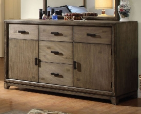 Natural Ash Finish Dresser