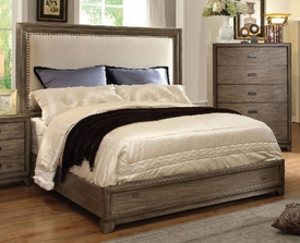 Natural Ash Finish Queen Bed