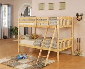 Natural Finish Bunk Bed