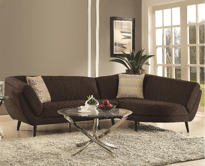 Norwood retro modern sectional 500463 furniture 4 less dallas for Furniture 4 less dallas tx