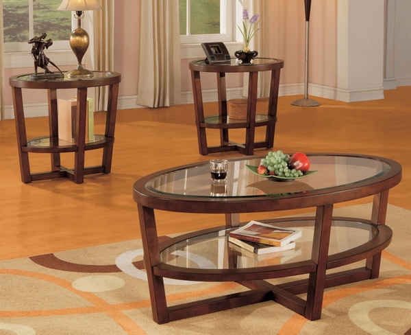 Opus 3-Pc Coffee Table Set