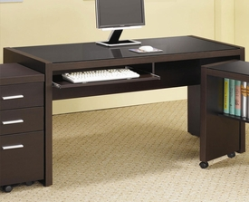 Papineau Computer Desk with Keyboard Drawer