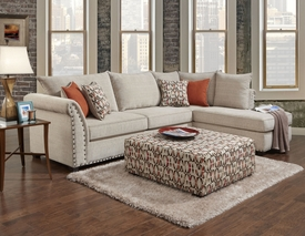 Patton Beige Sectional # 1850