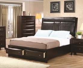 Phoenix Queen Storage Bed
