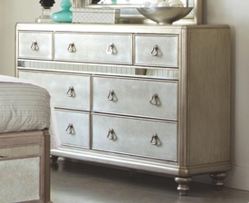 Platinum Metallic Finish Dresser