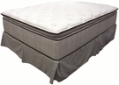 Queen Super Pillow Top Mattress and Foundation