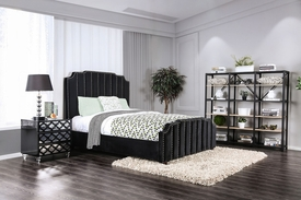 Atria Black Queen Bed