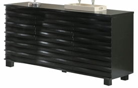 Rich Black Finish Server # 102065