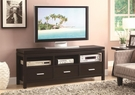 Rich Cappuccino Finish TV Console