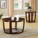 Rich Cherry Finish Cedar Crest Collection 3-pc Set