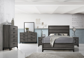 Sierra Grey Bed