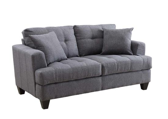 Samuel Collection Microfiber Loveseat