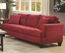 Samuel Collection Microfiber Sofa